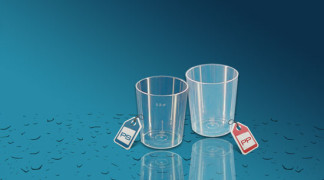 Plastičen kozarec Orpal 0,03 l