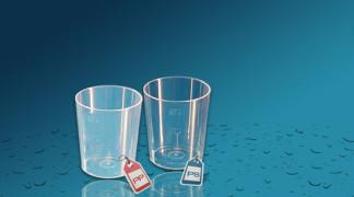 Plastičen kozarec Orpal 0,05 l