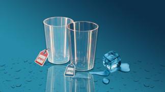 Plastičen kozarec Orpal 0,1 l