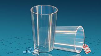 Plastičen kozarec Orpal 0,3 l