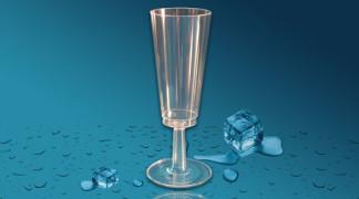Plastičen kozarec za penino Orpal 0,1 l