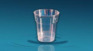 Plastičen kozarec Orpal PS 0,2 l - ozek