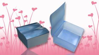 Sanitetna promocijska plastična embalaža - dvodelna