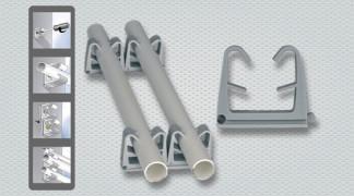 Skoba za elektro-instalacijske cevi in kable tipa OR
