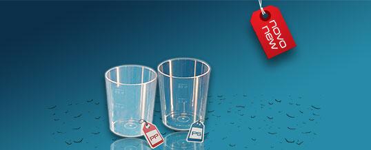 NOVOST – Plastičen kozarec Orpal 0,5 dl
