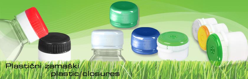 Plastic closures Orpal